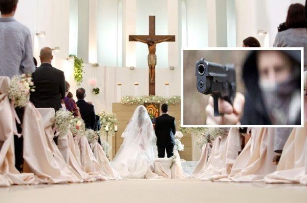 Blitz dei rapinatori in chiesa durante un matrimonio. Cerimonia interrotta