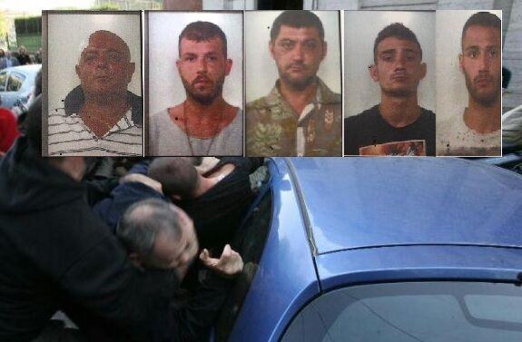 """Si prendono """"a mazzate"""" a colpi di bottiglie e coltelli, 5 arresti. I NOMI"""