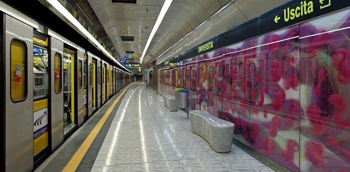 Napoli, lavori sulla metro Linea 1: chiusura anticipata il 9 febbraio
