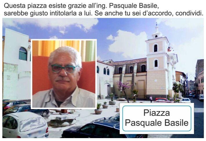 Una piazza intitolata a Pasquale Basile, l'iniziativa parte dal web
