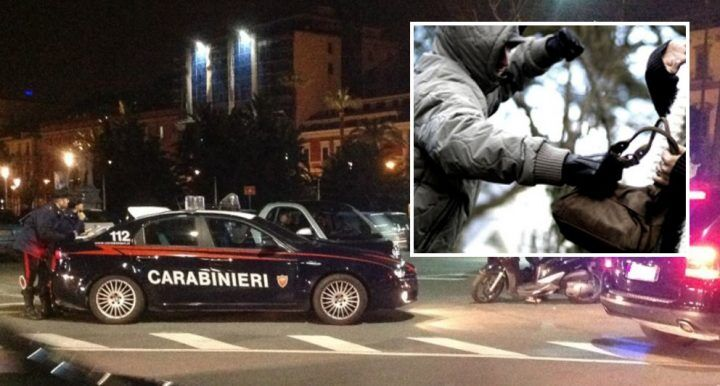 Da Giugliano a Napoli per rubare una borsa, 3 arresti
