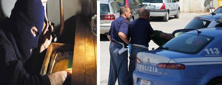 Boom di furti nelle abitazioni, doppia operazione della Polizia