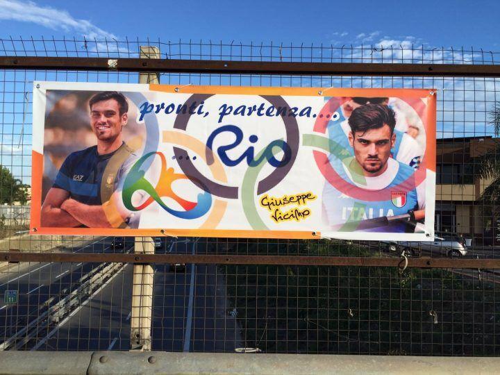 Giugliano alle Olimpiadi, parte oggi l'avventura di Giuseppe Vicino