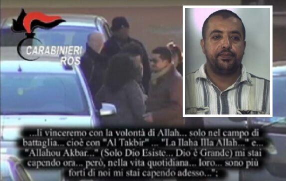 Isis nel casertano, Khemiri ascoltato dai giudici
