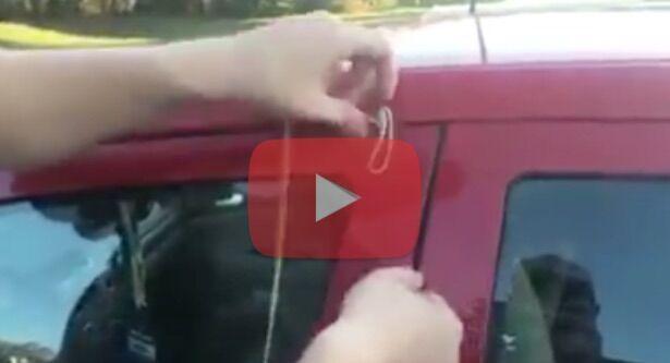 Come rubano le auto, sul web spunta il video choc