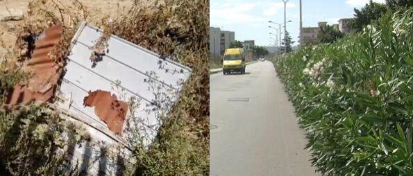 """Giugliano, quartiere Casacelle: degrado e """"roghi pronti"""". I residenti di via Pigna: """"Non possiamo attraversare la strada"""""""