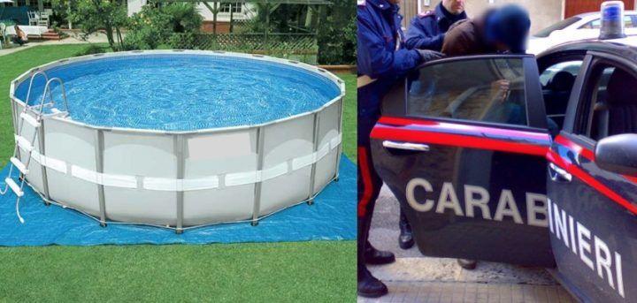 Villaricca, evade per un bagno in piscina: 21enne arrestato dai carabinieri