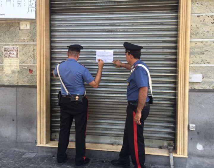Qualiano, carabinieri chiudono due bar del centro storico