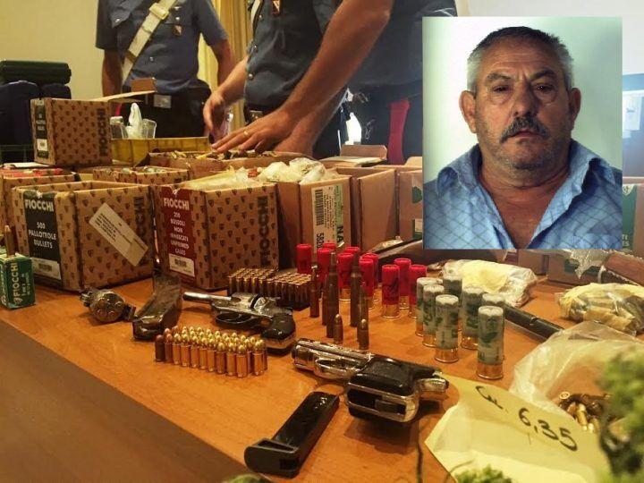 Armi, munizioni, droga coltivata e bombe. Scoperta choc nel terreno di un pensionato