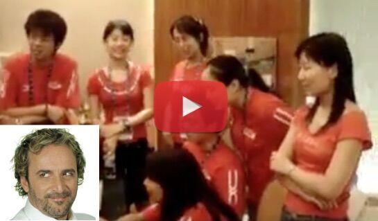 Le canzoni di Tony Tammaro arrivano in Cina, il video spopola sul web