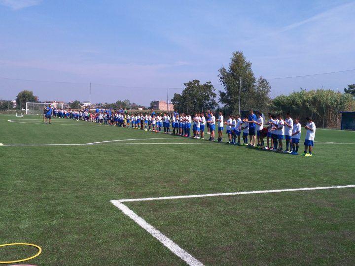 """Inaugurato il nuovo centro sportivo San Michele: una struttura dove convivono sport e socialità. Il pres.Visone: """"Qui tutti sullo stesso piano"""""""
