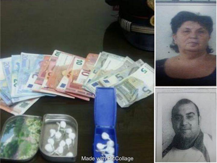 Mondragone. Arrestati madre e figlio per possesso di droga