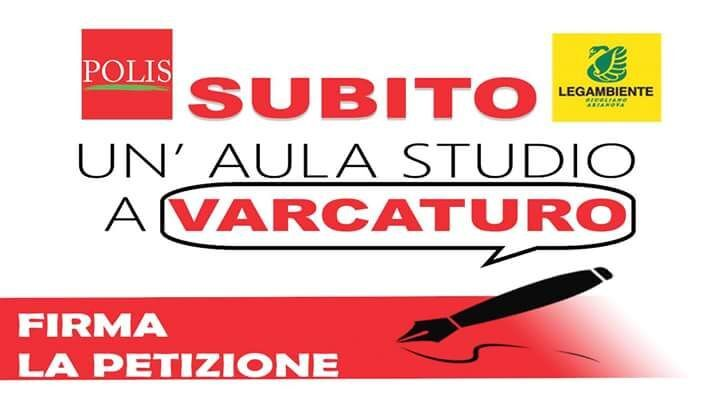 Aula studio dentro Villa Zagaria a Varcaturo, parte la petizione di Polis