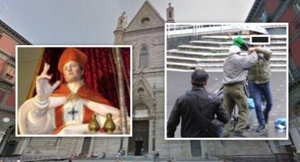 Rissa sfiorata per San Gennaro, assurdo ciò che è successo durante la messa