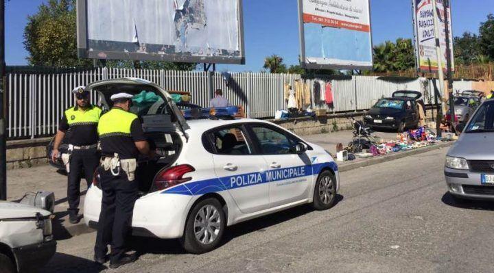 Blitz della Polizia Municipale di Giugliano sull'Appia, ecco i risultati