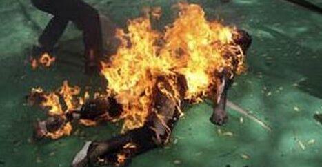 Bruciato vivo in casa padre di famoso dejeey, giallo in città
