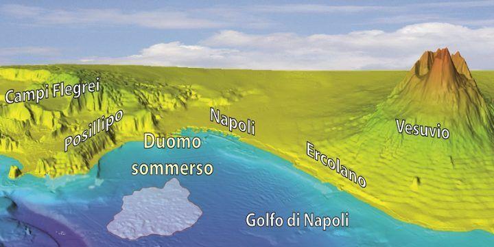 Incubo eruzione, scoperti sei nuovi vulcani nel Golfo di Napoli