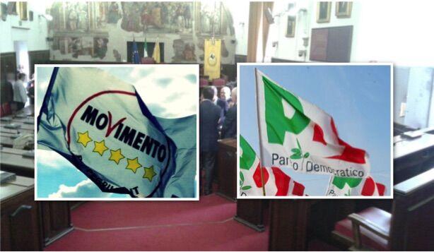 Elezione consiglio metropolitano, la lista dei 5 stelle sottoscritta da consiglieri del Pd