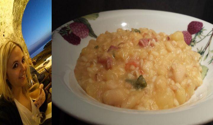 Ricette e sapori della nostra buona terra: zuppa di cereali con patate e fagioli cannellini