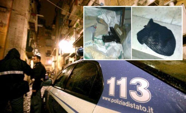 Gira con passamontagna e punta la pistola contro i poliziotti: arrestato 19enne