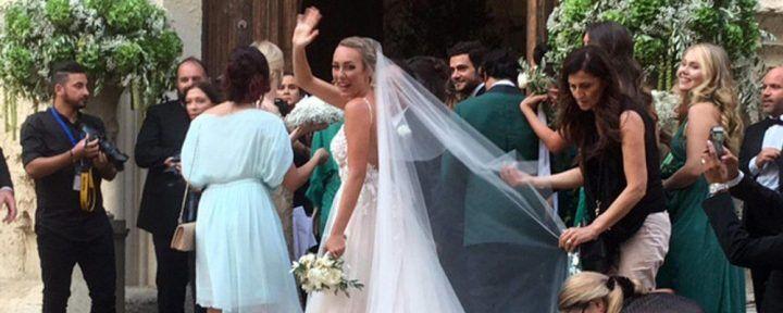 Finalmente ha detto il fatidico sì. Matrimonio vip per lei
