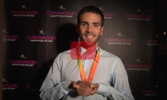 Festa a Fuorigrotta per l'atleta paraolimpico Vincenzo Boni