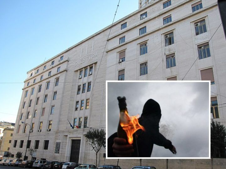 Molotov contro la polizia, preso il presunto responsabile