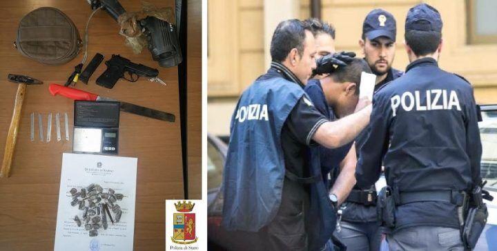 """Blitz in casa di """"Loko"""" dopo lite con la moglie, la polizia trova di tutto"""