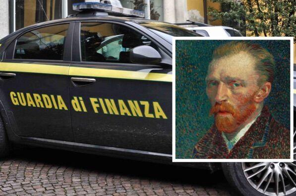 Maxi blitz anti-droga, trovati due quadri di Van Gogh