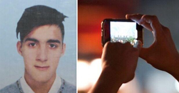 Vergogna al centro scommesse, Vincenzo fotografato mentre muore