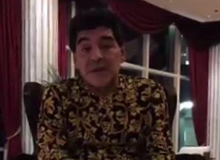 A questa Juve facevamo 4 gol: lo dice Maradona in un video per i napoletani