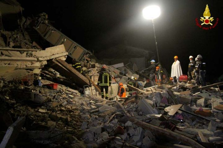 Terremoto in centro Italia: le scosse sentite distintamente anche nel Ravennate