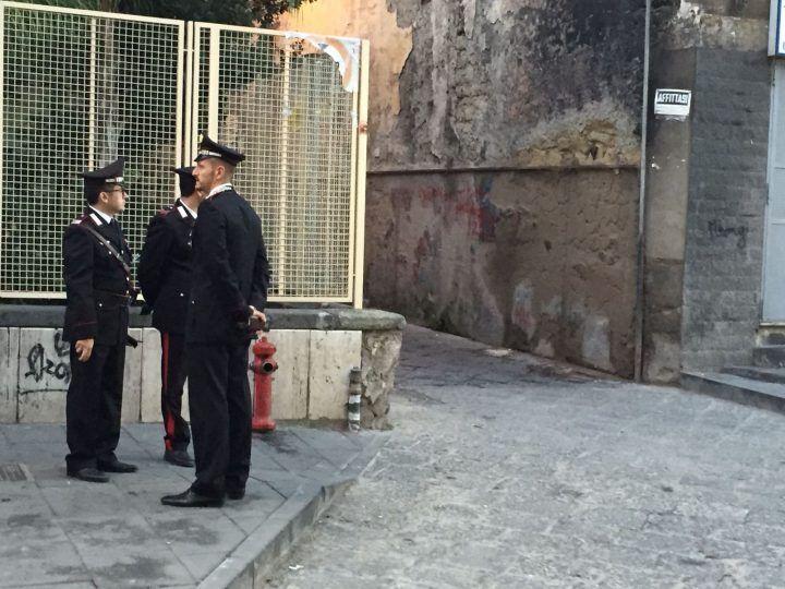 Giugliano, blitz dei Carabinieri in un circolo di via Roma
