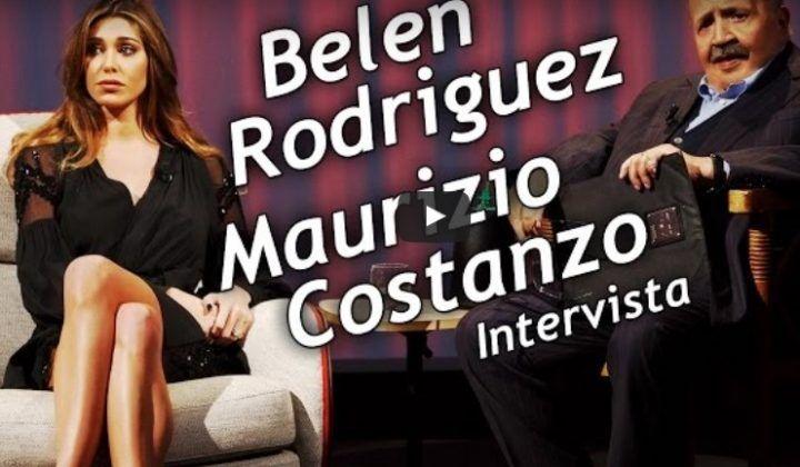 """Video intervista di Belen da Maurizio Costanzo. """"Ecco perché ho lasciato Stefano"""""""
