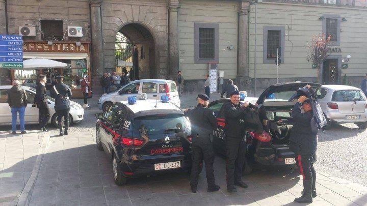 Giugliano, pizzo sui lavori Piu Europa: in manette due noti camorristi