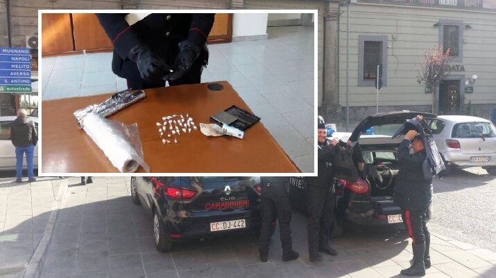 Operazione dei carabinieri nell'area giuglianese: 7 arresti e 13 denunce. I NOMI