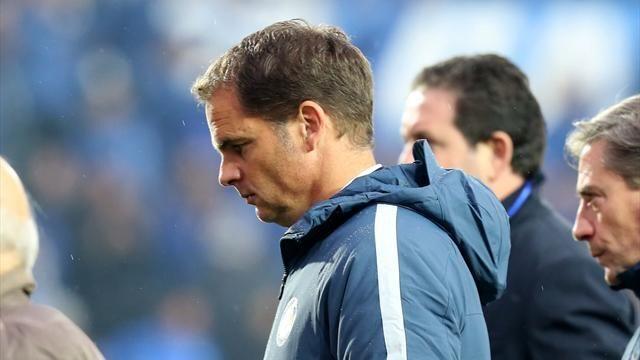 Inter, esonero di De Boer in bilico: ennesima bocciatura per un big