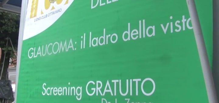 Giugliano, glaucoma: successo per la giornata di prevenzione in piazza della Clinica Hera