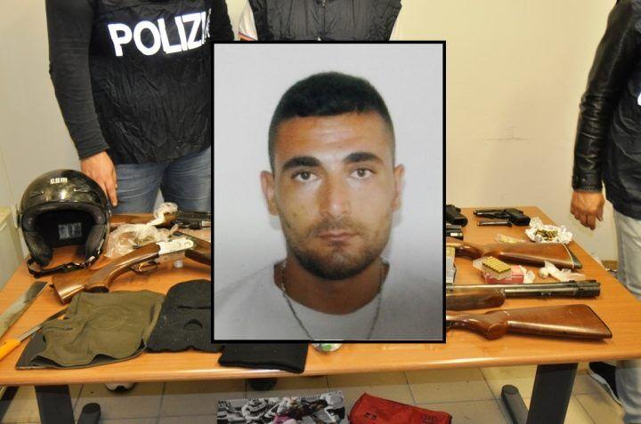 Fratta, colpo al crimine organizzato: maxi-sequestro di armi. Un arresto