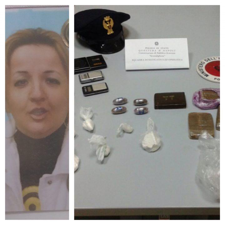 Base per lo smistamento di droga nell'area nord, arrestata una donna