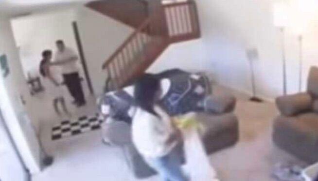 Insospettabile ladra scoperta dalla video sorveglianza per bimbi