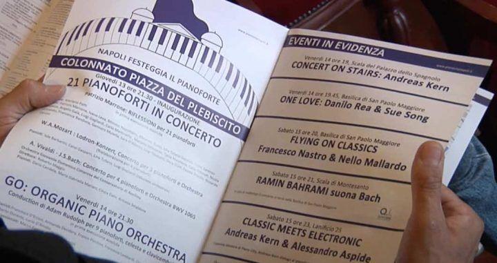 Presentata l'edizione 2016 di Piano City: 400 pianisti a Napoli
