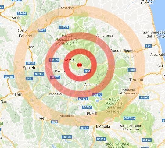Terremoto oggi, nuove scosse in mattinata. Paura a Perugia, Macerata e Ascoli