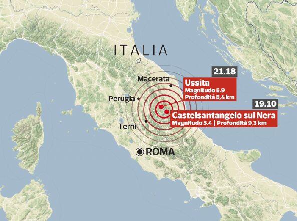 Terremoto: a rischio le prossime 48 ore