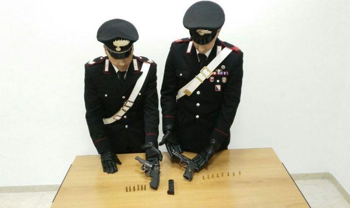 Armi sotterrate lungo la statale: scoperta shock dei carabinieri