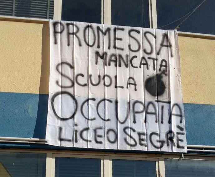 """Marano, occupato il Segrè: """"Promesse non mantenute"""""""