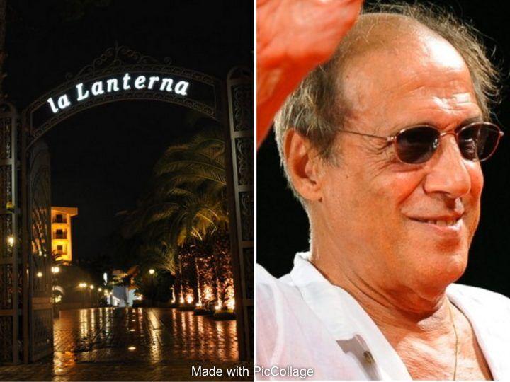 Sosia di Adriano Celentano a Villaricca, cena spettacolo a La Lanterna