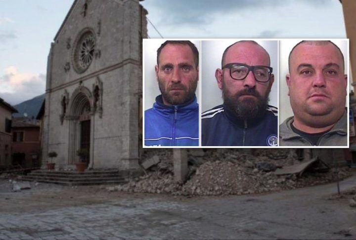 Da volontari a ladri, tre campani sorpresi a rubare in un deposito