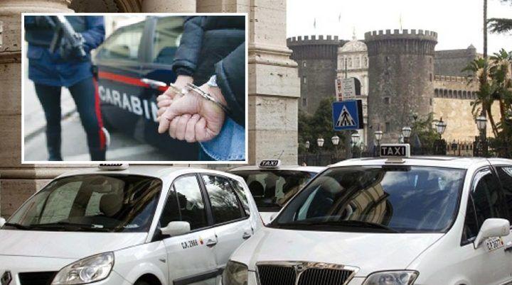 In taxi con bagagli strapieni, poi la scoperta dei carabinieri: arrestati
