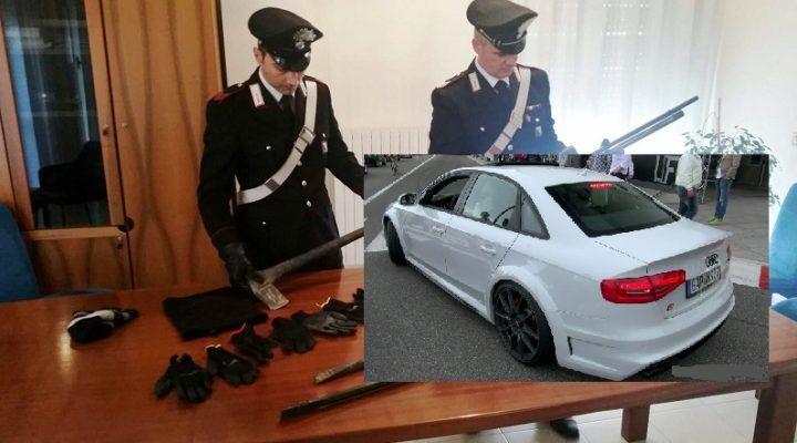 Grumo Nevano, scoperti a rubare in casa scappano dai Carabinieri. Arrestati